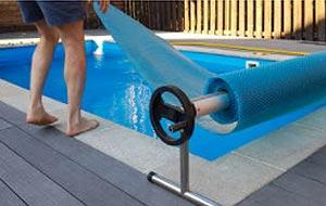 Chauffer l'eau de la piscine